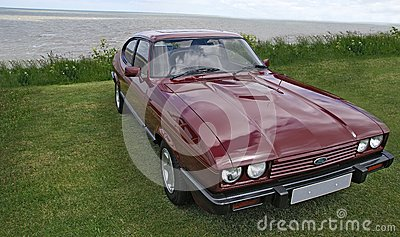 Ford Capri 2.8i Editorial Photography