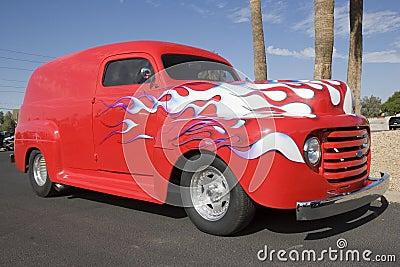 Ford At Car Show
