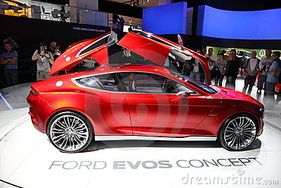 Ford Concept Car EVOS at the IAA Editorial Stock Image