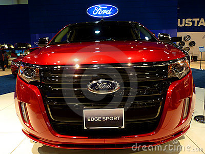 Ford Edge Sport Editorial Photography