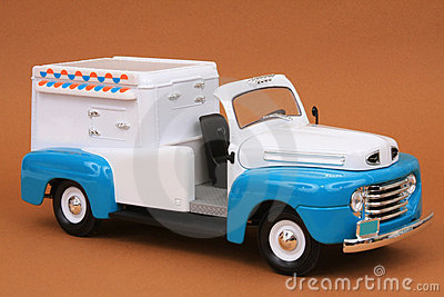 Ford F-1 Ice Cream Truck 1948