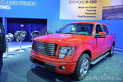 Ford F-150 Editorial Stock Photo