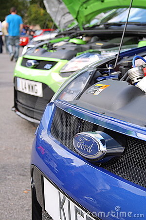 Ford Focus RS Editorial Stock Image