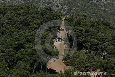 Ford focus Wrc Editorial Stock Image