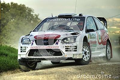 Ford focus wrc rally car Editorial Photography