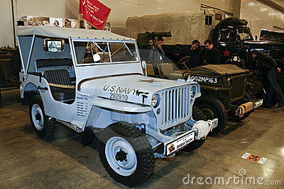 FORD GPW 1/4 TON 4X4 ARMY JEEP Editorial Stock Image