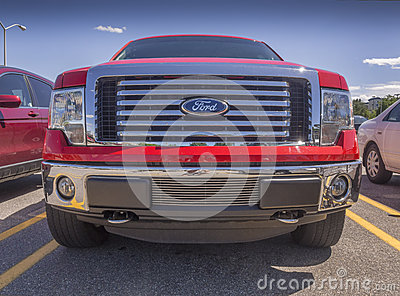 Ford grill Editorial Image