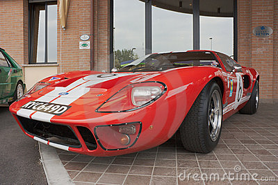 Ford GT 40 Editorial Stock Photo
