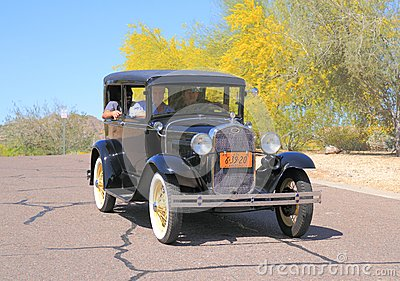 USA: Antique Car - 1931 Ford, Model A Editorial Stock Photo