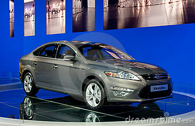 Ford Mondeo - world premiere Editorial Image