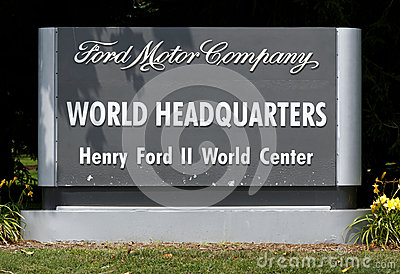 Ford Motor Company World Headquarters Editorial