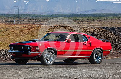 1969 Ford Mustang Mach1 Editorial Photo