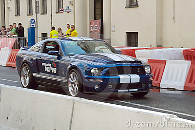 Ford Mustang at Verva Street Racing 2011 Editorial Image