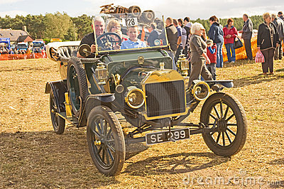 Ford open tourer at Roseisle. Editorial Image