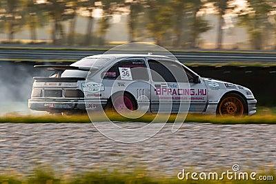 Ford Sierra drift car