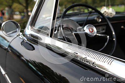 Ford Sunliner Editorial Stock Photo