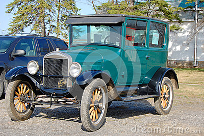 Ford T Model in Antique Car Show Editorial Photo