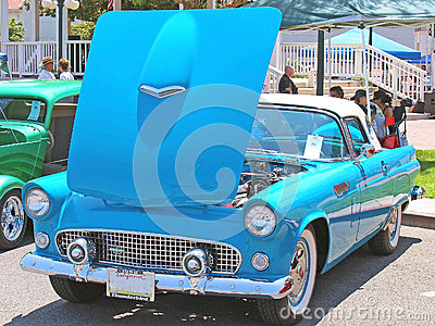 1956 Ford Thunderbird Editorial Stock Photo