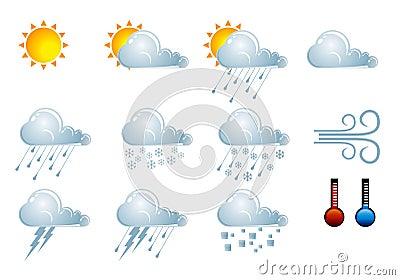 Forecast weather icons