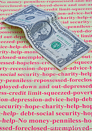 Foreclosed; my last dollar.