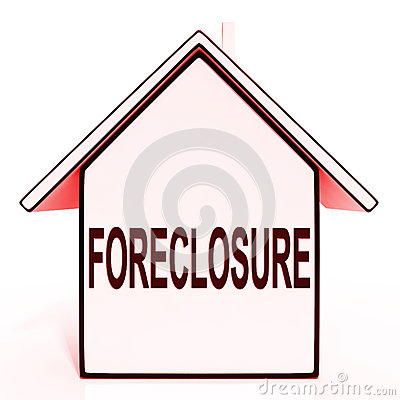 Foreclosure House Means Repossession