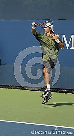 εκδοτικό forehand Luigi δ agord του 2009 ανο Εκδοτική Στοκ Εικόνα