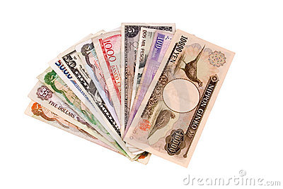 Foreign currency bills