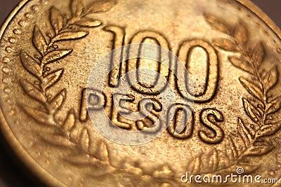 Foreign Money Coin - 100 Pesos