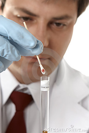 Forensic blood testing