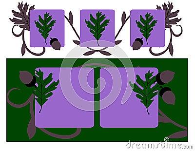 Forest Oak on Violet