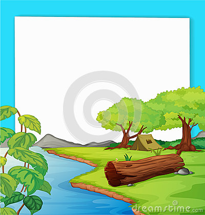 Free Forest Scene Royalty Free Stock Photography - 24833427