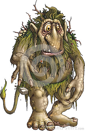 Free Forest Troll Stock Images - 25301214