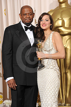 Forest Whitaker, Marion Cotillard Editorial Stock Image