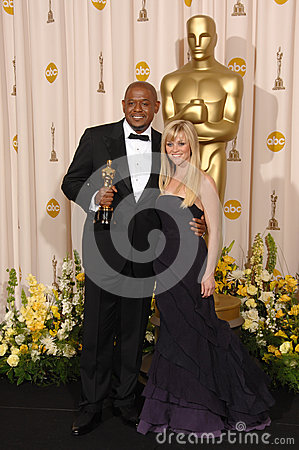 Forest Whitaker,Reese Witherspoon Editorial Photography
