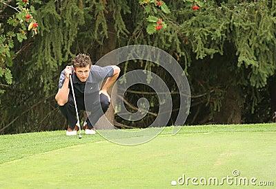 Foret, Green Velvet golf pro-am, Megeve, 2006 Editorial Stock Photo