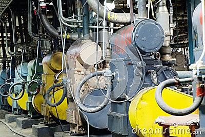 Forevacuum installations