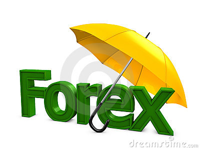 Forex umbrella Editorial Photography