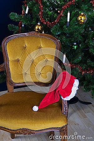 Forgotten hat from Santa Claus