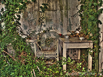 Forgotten porch