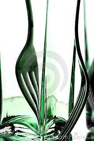 Fork Abstract Background