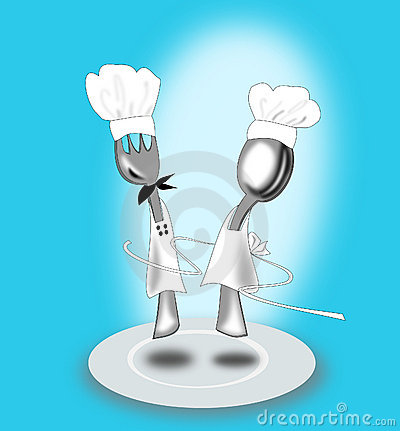 Free Fork And Spoon Royalty Free Stock Image - 13339556