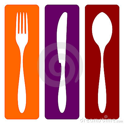 Free Fork, Knife And Spoon Stock Photography - 11124152