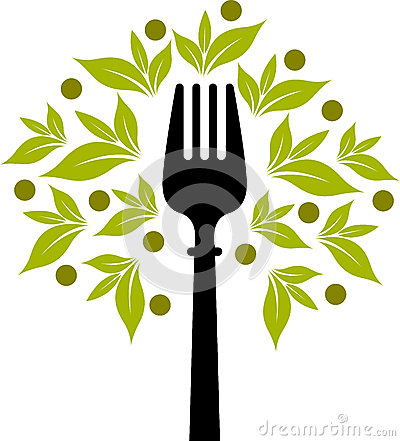 Free Fork Tree Logo Stock Photo - 31032800