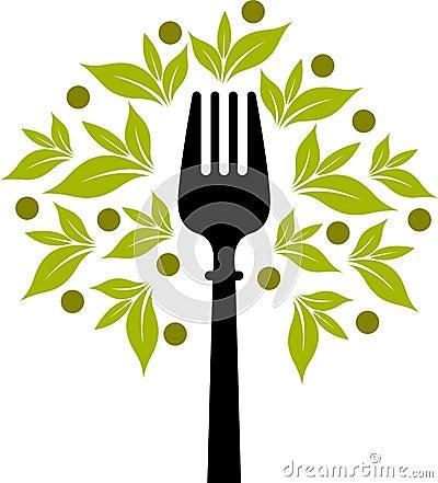 Fork tree logo