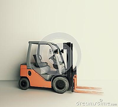 Forklift front