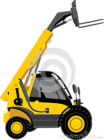 Free Forklift Truck Stock Images - 64548334