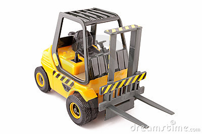 Forklift zabawka