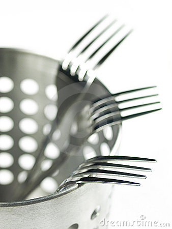 Free Forks Stock Photography - 8426412