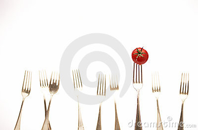 Forks & Tomato