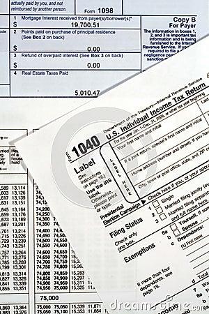 Form 1040 Income Tax Return